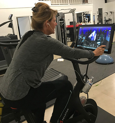 Peloton Spin Bike with Virtual Spin Classes